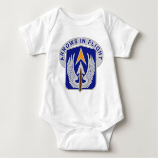 112th Aviation Regiment - Arrows In Flight Baby Bodysuit