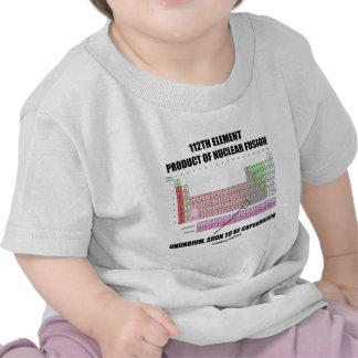 112th Element Product Nuclear Fusion Copernicium T-shirts