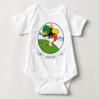 112th Fighter Squadron Baby Bodysuit