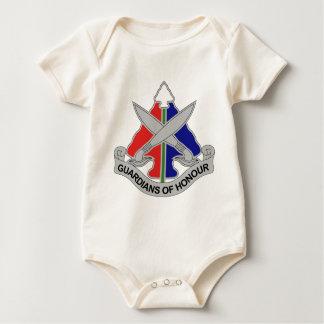 112th Military Police Battalion Baby Bodysuit
