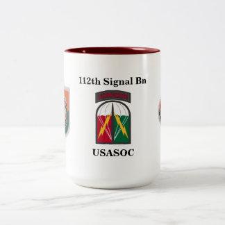 112th Signal Bn Mug