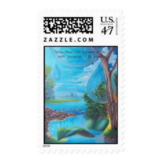 11316382, Water Planet   - Leomariano brasil Postage