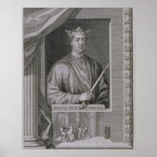 1133-89) reyes de Henry II (de Inglaterra a partir Póster