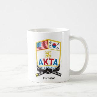 113-1b AKTA Instructors 2nd Dan Black Belt Mug