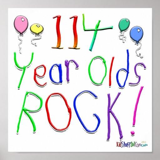 ¡113 años de la roca! póster