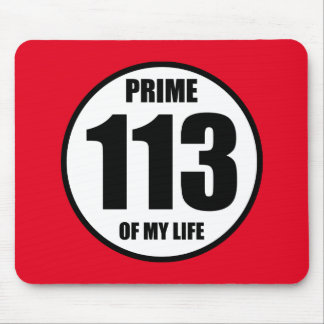 113 - prime of my life mouse pad