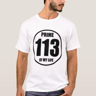 113 - prime of my life T-Shirt