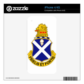 113th Infantry Regiment Decals For The iPhone 4S