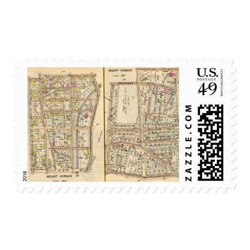 114115 Mt Vernon Postage Stamps
