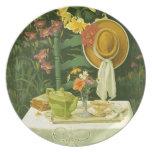 1144 Tea Time in Garden Party Plates