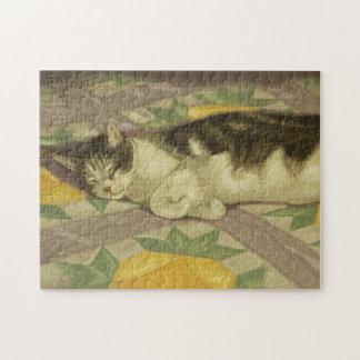 1149 Cat on Quilt Puzzles