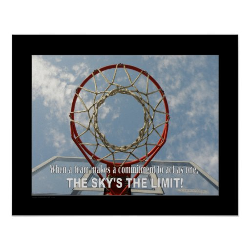#114 (Matte) Basketball Poster