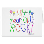 114 Year Olds Rock ! Greeting Cards