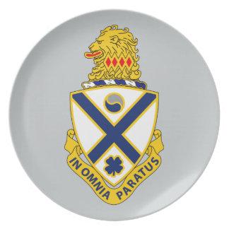 114th Infantry Regiment Dinner Plate