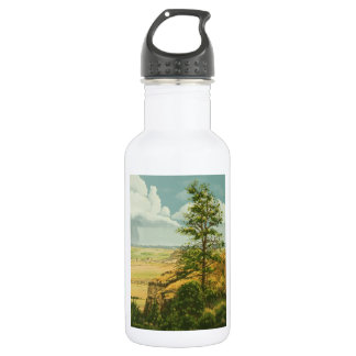 1158 Pine on Scotts Bluff Monument 18oz Water Bottle