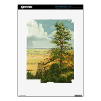 1158 Pine on Scotts Bluff Monument Skins For iPad 2