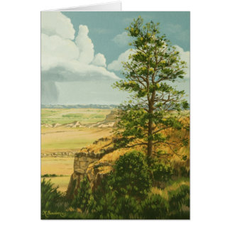 1158 Pine Scotts Bluff Monument Father's Day Card