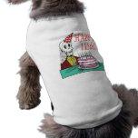 115o feliz camiseta de perro