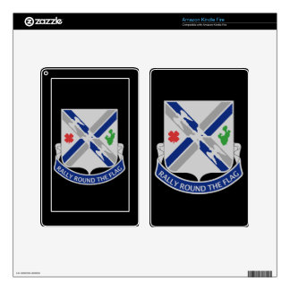 115th Infantry Regiment - Rally Round The Flag Kindle Fire Decal