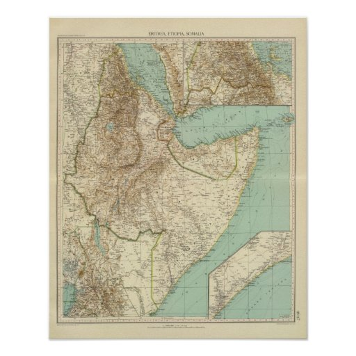 11617 Eritrea, Etiopía, Somalia Impresiones