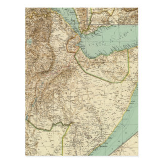 11617 Eritrea Etiopía Somalia Tarjeta Postal