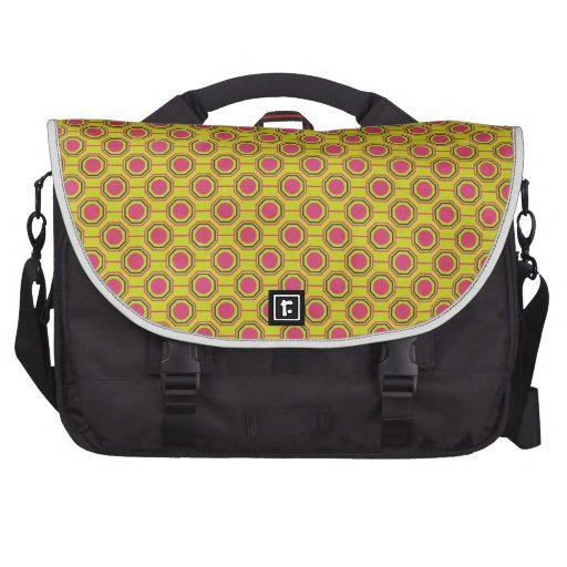 1161_geometric-05 GREENISH YELLOW   CLOUDY ABSTRAC Laptop Bags