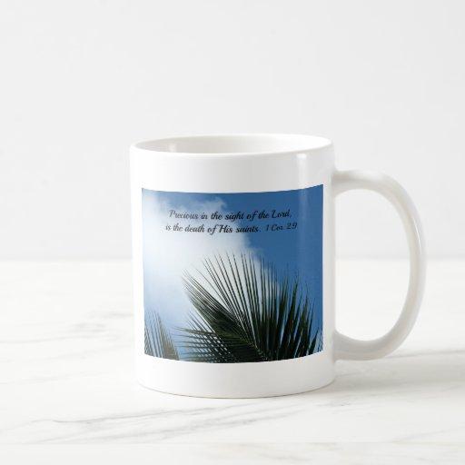 116:15 del salmo taza de café