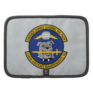 116th Escuadrilla del mantenimiento de aviones Planificadores