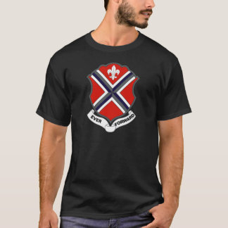116th Infantry Regiment - EVER FORWARD - WWII T-Shirt