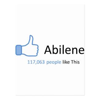 117063 people like Abilene Postcards