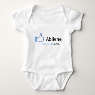 117063 personas tienen gusto de Abilene Playera