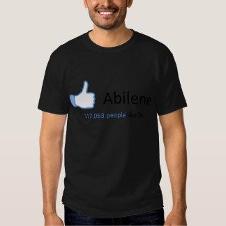 117063 personas tienen gusto de Abilene Remera