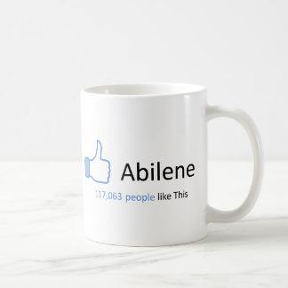 117063 personas tienen gusto de Abilene Taza Clásica