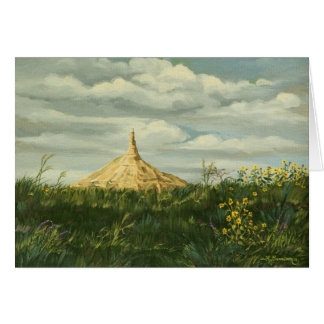 1170 Chimney Rock Landscape Father's Day Card