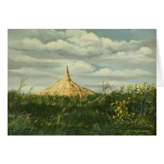 1170 Chimney Rock Landscape Greeting Card