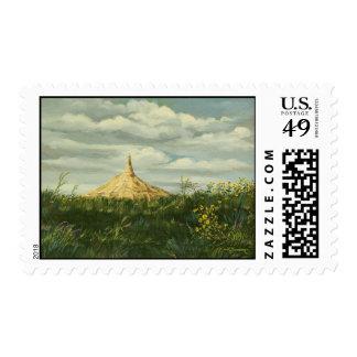 1170 Chimney Rock Landscape Postage