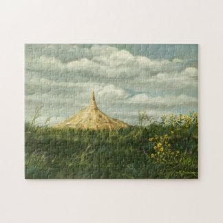 1170 Chimney Rock Landscape Jigsaw Puzzles