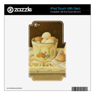 1175 Bowl of Eggs & Pitcher Decals For iPod Touch 4G