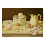 1175 Bowl of Eggs & Pitcher Greeting Card