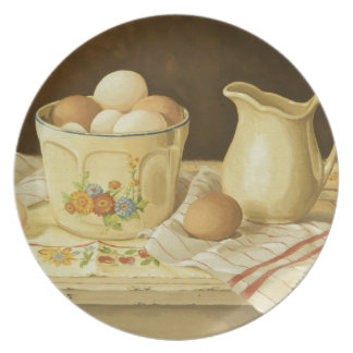 1175 Bowl of Eggs & Pitcher Plate