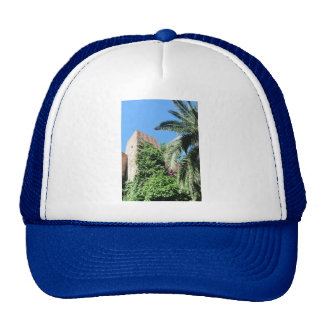 1179 CASTLE TOWER RUINS MYSTERIOUS HISTORICAL ARCH HAT