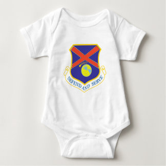 117th Air Refueling Wing Baby Bodysuit