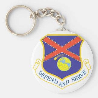 117th Air Refueling Wing Basic Round Button Keychain