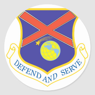 117th Air Refueling Wing Classic Round Sticker