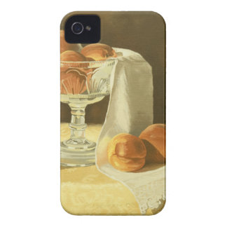 1181 Peaches in Glass Compote Case-Mate iPhone 4 Case