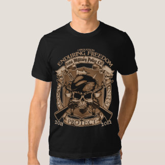 1186 Military Police - Enduring Freedom T-shirt