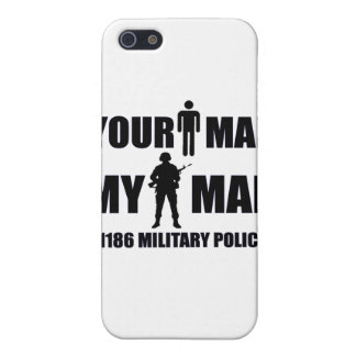 1186 Military Police My Man iPhone SE/5/5s Cover