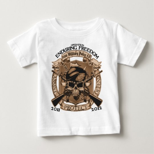 1186 MP Enduring Freedom Baby T-Shirt
