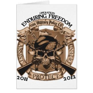 1186 MP Enduring Freedom Card