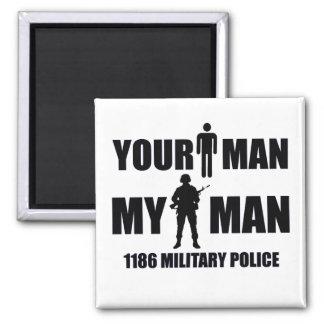 1186 policía militar mi hombre imanes de nevera